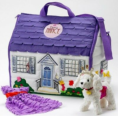 New and Retired Madame Alexander Fancy Nancy Dress-Up Trunk Set With Posh Puppy