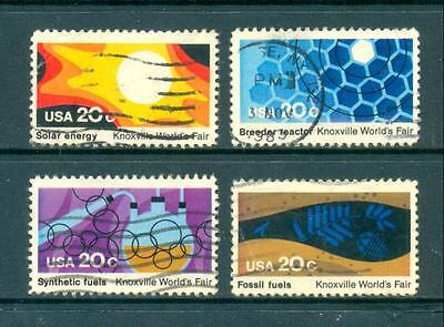 USA 1982 Knoxville World's Fair set Used. One postage for multiple buys.