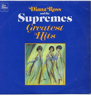 """Diana Ross And The Supremes - Greatest Hits - 12"""" Vinyl Lp (Mono)"""