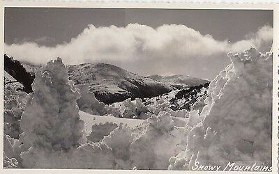 Postcard Snowy Mountains NSW no marks on back