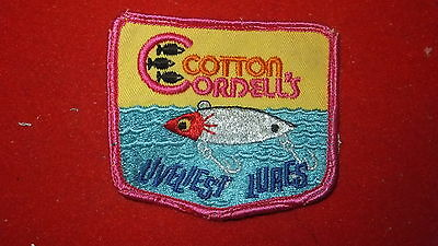 Patch - Fishing Equip. Manufacturer - Cotton Cordell's