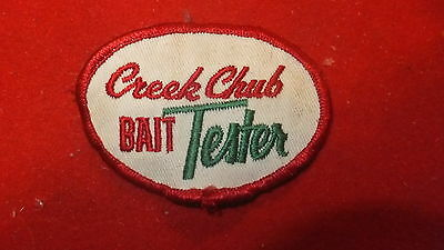 Patch - Fishing Equip. Manufacturer - creek Chub Bait Tester