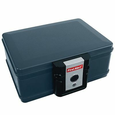 First Alert 2011F Slate 294 Cubic Inches Fire Resistant Chest Fits Standard
