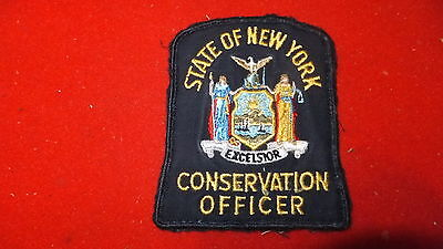 Patch - State of New York Conservation Officer, US .