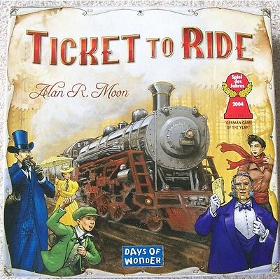 Ticket to Ride Board Game Brand New