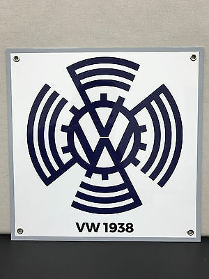 Vw volkswagen 1938 vintage advertising sign