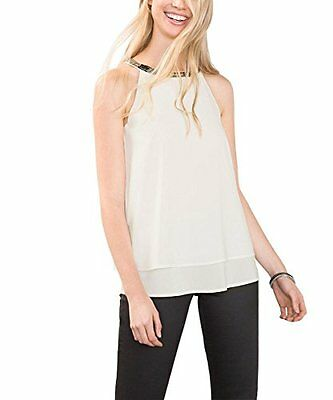Bianco (off White 110) (TG. 36) ESPRIT 116EE1F034, Camicia Donna, Bianco (Off Wh