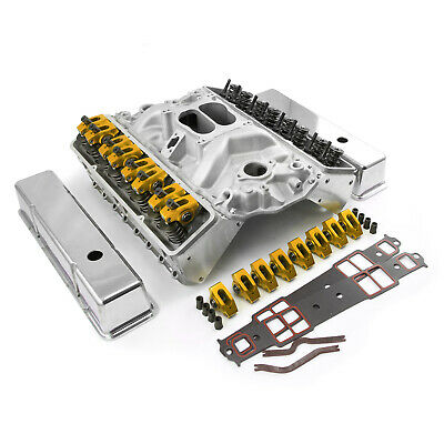 Chevy SBC 350 383 400 Hyd Flat Tappet Cylinder Head Top End Engine Combo Kit