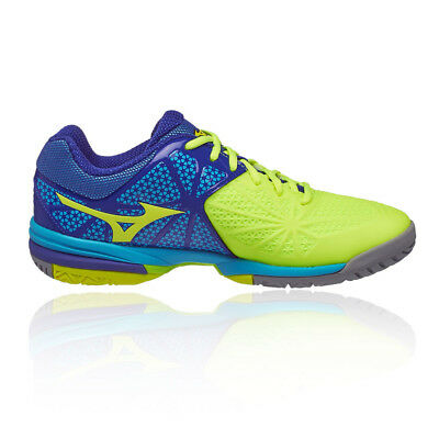 new products 97395 600cf Mizuno Wave Exceed Tour 2 All Mens Yellow Blue Tennis Court Shoes Trainers