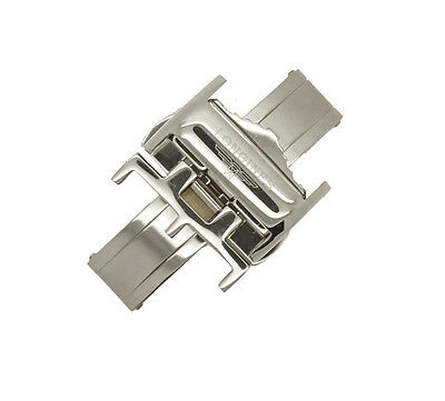 LONGINES Stainless Steel Silve Deployment Butterfly Clasp Buckle for Watch Strap