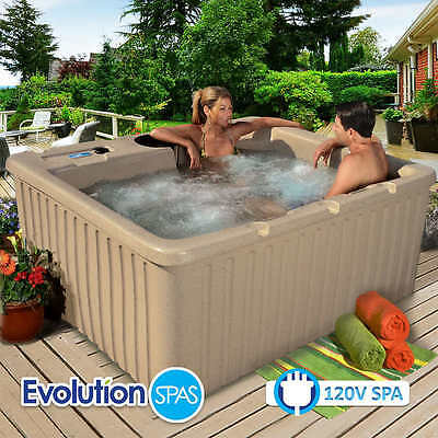Evolution Spas Aruba 14-jet Spa 4 Person Hot Tub