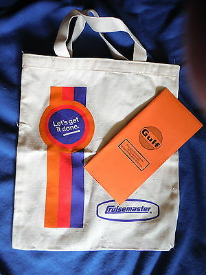 Gulf Oil - Canvas Shopping Tote Bag + Philadelphia Office Booklet