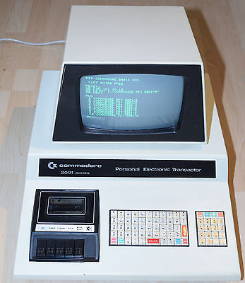 Commodore PET-2001-8 - cleaned & tested / very good collectors condition!