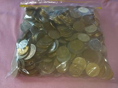 Bulk Lot of Mixed Coins From Indonesia 2kg+
