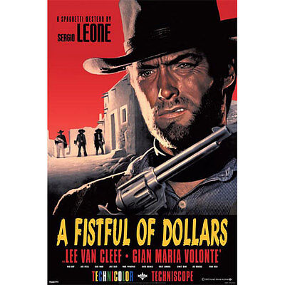 A Fistful of Dollars POSTER 61x91cm NEW * Clint Eastwood Western Movie