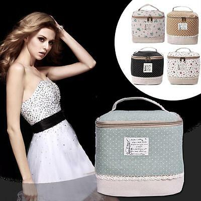 Makeup Travel Storage Bag Cosmetic Jewelry Wash Hanging Toiletry Case Organizer