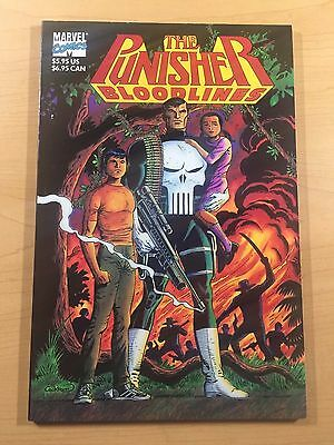 MARVEL Comics THE PUNISHER: BLOODLINES 1991 Graphic Novel UNREAD NM! Ships FREE!