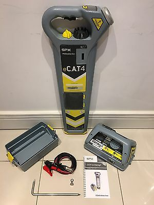 RADIODETECTION eCAT4 STRIKE ALERT CAT AND GENNY 4 CABLE AVOIDANCE LOCATOR
