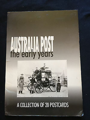 Australia Post Early Years Post Card Collection