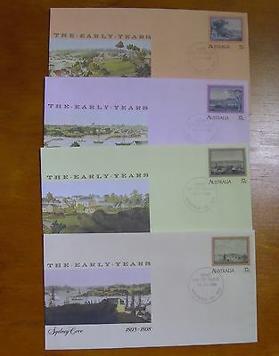 Aust PSE FDI 1988 The Early Years - set 4 covers