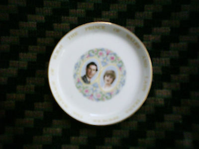 Coalport Pin Dish To Commemorate Marriage Of Prince Charles & Diana