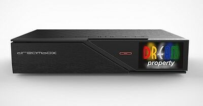 Dreambox DM 900 UHD 4K E2 Receiver mit DVB-S2 Dual Tuner