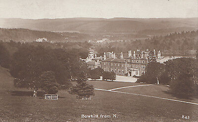 3 postcards Bowhill
