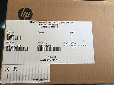 J9581A New Boxed Sealed Hp J9581A X311 400W Procurve Power Supply J9581-61002