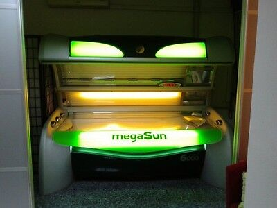 MegaSun 6000 lay down sunbed, mp3  FREE INSTALATION, DELIVERY, TUBES !!!!