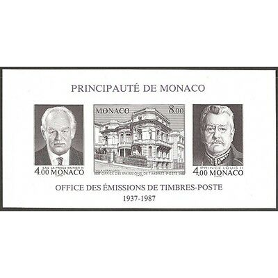 BLOC TIMBRES MONACO N°_39a OETP LUXE