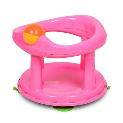 Safety 1st Swivel Bath Seat Baby Bathing Support Chair Pink