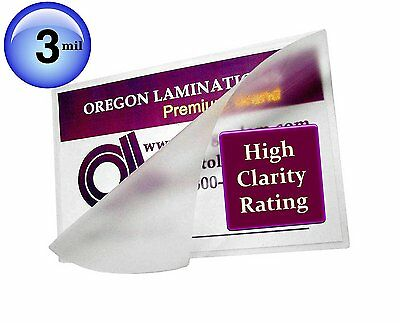 Hot 3 Mil Menu Laminating Pouches 12 x 18 [Pkg of 100] for 11 x 17 sheets