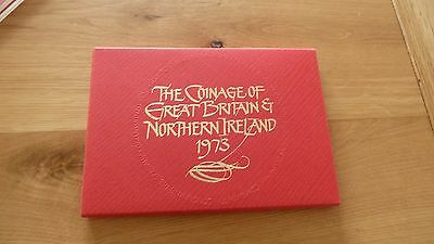 Royal Mint Coinage Of Great Britain And Northern Ireland 1973
