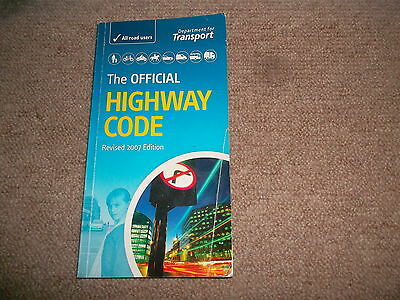 The Official Highway Code book from Department of Transport