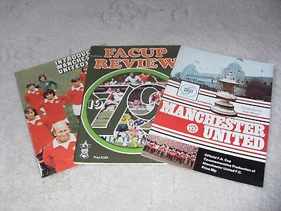 Collection of Three Manchester United Magazines