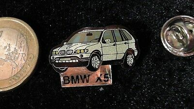 BMW Pin Badge Auto limited Edition 500 MBW X5 in silber