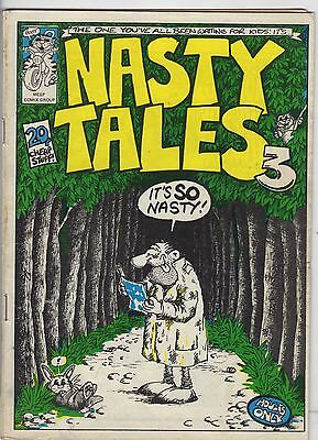 Nasty Tales #3   Rare   VG/FN