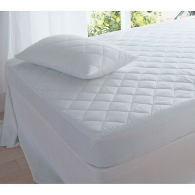 Luxury Quilted Single Mattress Protector Fully Fitted New Gift