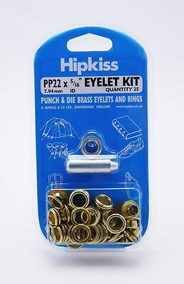Diy Brass Eyelet Kits & Refills 6 Sizes!