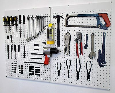 Tool Storage for Hand and Power Tools Silhouette Board Organizer F1