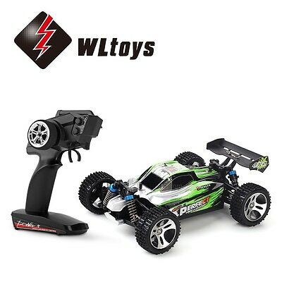 Wltoys A959 2.4G 1/18 4WD Electric RC Car Off-Road Remote Control 35km/h Buggy