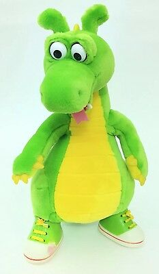 """1994 The Adventures Of Dudley The Dragon Plush Toy 13"""" A Little Happiness"""