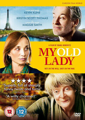 My Old Lady DVD (2015) Kevin Kline, Horovitz (DIR) cert 12 Fast and FREE P & P