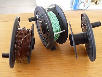 Shakespeare, Graflite 2755, Fly Fishing Reel, With 3 Spools, 2 Loaded, Good Conn