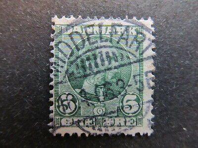 A3P27 Denmark 1905-06 5o Re-engraved used #17