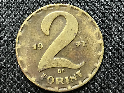 Hungary 2 Forint 1977, Collectable