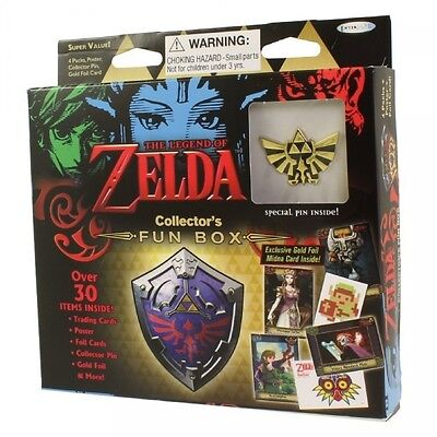 Legend of Zelda Trading Card Game: Collector's Fun Box Brand New