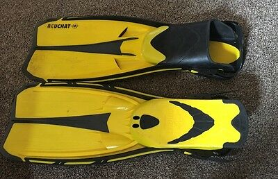 Scuba Diving Fins Flippers Beuchat X-Jet Large - Extra Large