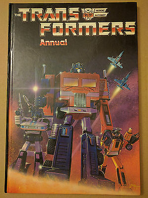 The Transformers Annual UK G1 1986