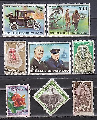 Haute Volta / Upper Volta - 1928-1975 - 8 Different Stamps - Mng/used